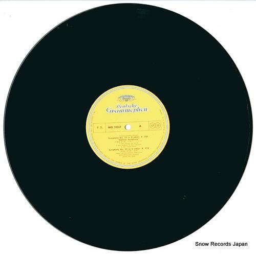 BOHM, KARL mozart; symphony no.35 haffner symphony MG-2021 - disc