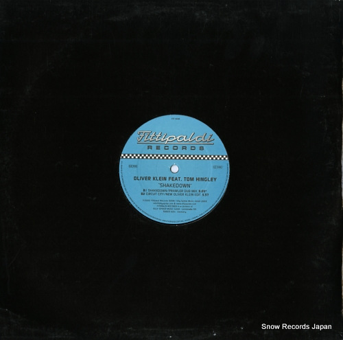 KLEIN, OLIVER shakedown (the remixes) FIT005R - back cover