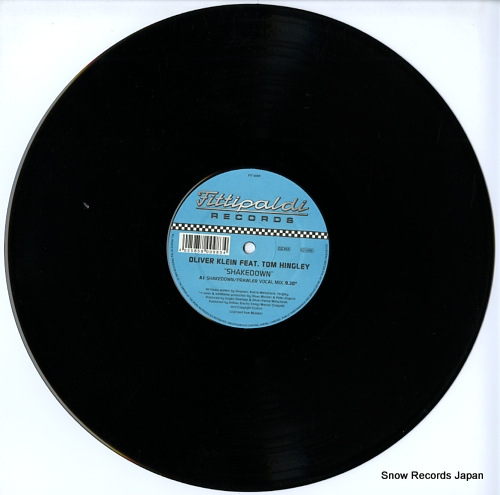 KLEIN, OLIVER shakedown (the remixes) FIT005R - disc
