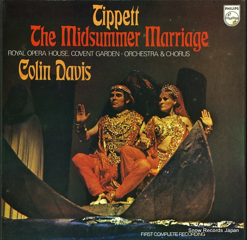 DAVIS, COLIN tippett; the midsummer marriage 6703027 - front cover