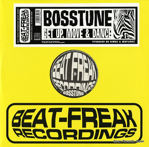 BOSSTUNE get up, move & dance B.F008 - front cover