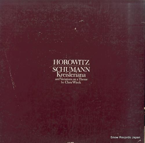 HOROWITZ, VLADIMIR schumann; kreisleriana SONC10148 - back cover