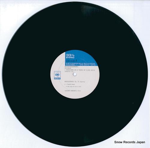 HOROWITZ, VLADIMIR schumann; kreisleriana SONC10148 - disc