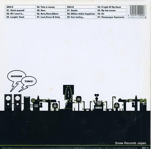 NEVER GOOD ENOUGH modern times LTDA-002 - back cover