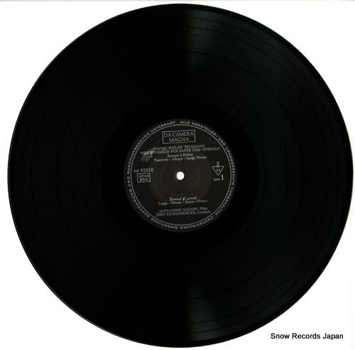 MAGNIN, ALEXANDRE telemann; 4 concerti fur querflote und cembalo SM92910 - disc