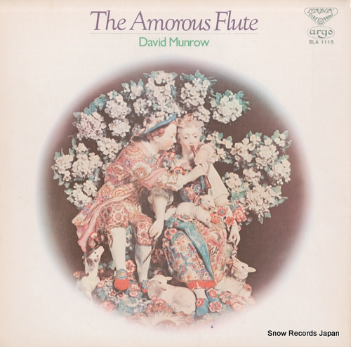 MUNROW, DAVID the amorous flute SLA1115 - front cover