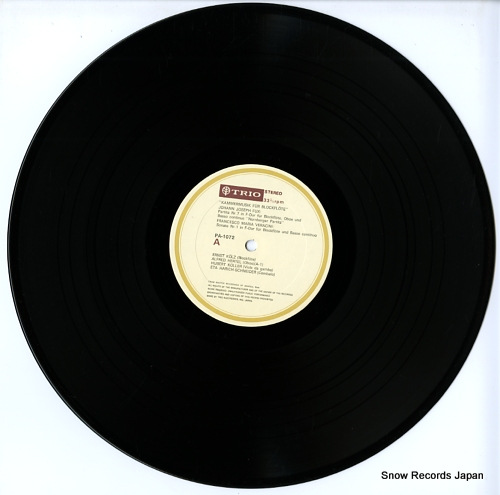 V/A kammermusik fur blockflote PA-1072 - disc