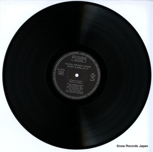 V/A hummel; septett d-moll op.74 SM92804 - disc