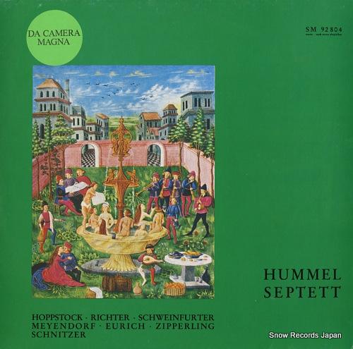 V/A hummel; septett d-moll op.74 SM92804 - front cover