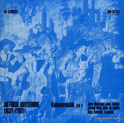 V/A dietrich buxtehude; kammermusik teil 2 SM92104 - front cover