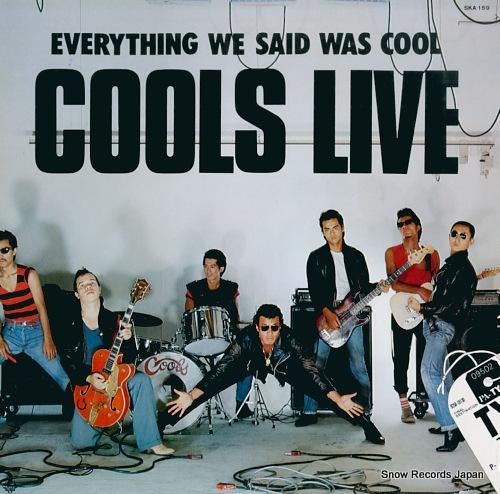 COOLS live SKA159 - front cover