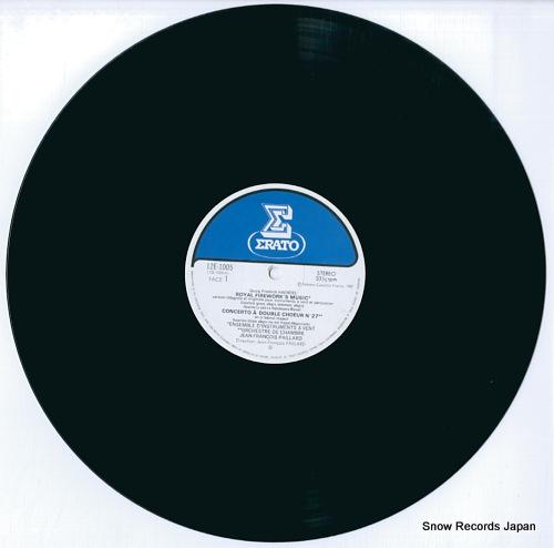 PAILLARD, JEAN-FRANCOIS haendel; royal firework's music 12E-1005 - disc