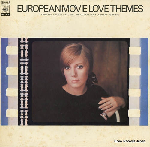 V/A european movie love themes FCPA-106 - front cover