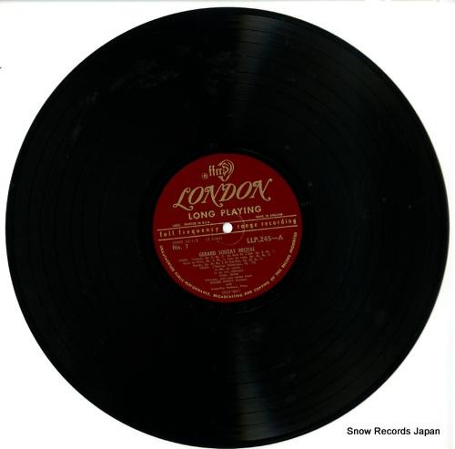 SOUZAY, GERARD recital LL245 - disc