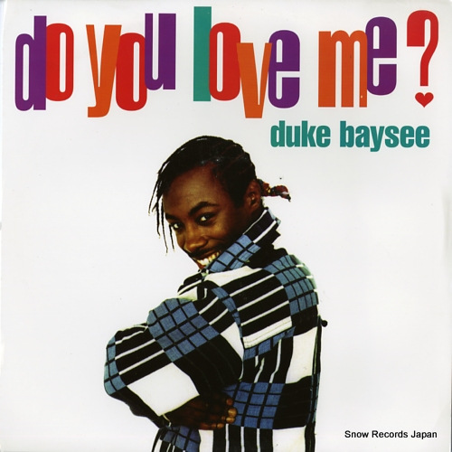 BAYSEE, DUKE do you love me? 12DEK1 - front cover