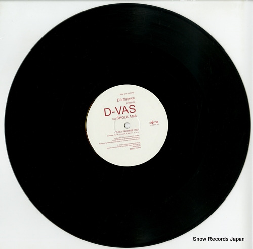 D-VAS this i promise you 12DOME161 - disc