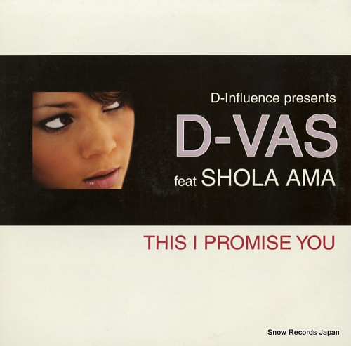D-VAS this i promise you 12DOME161 - front cover