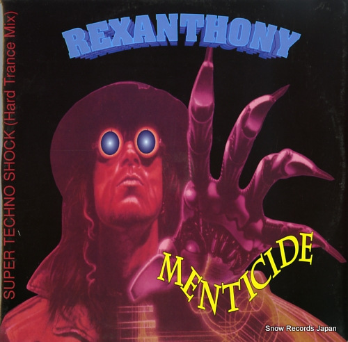 REXANTHONY menticide SOB208 - front cover