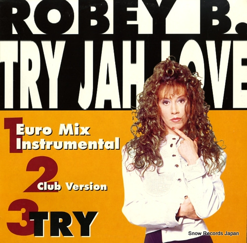 ROBEY B. try jah love EGMIX114 - front cover