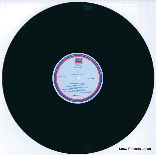 MILES, JOHN john miles' music L20P1124 - disc