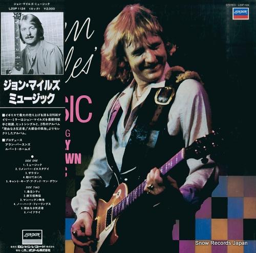 MILES, JOHN john miles' music L20P1124 - front cover