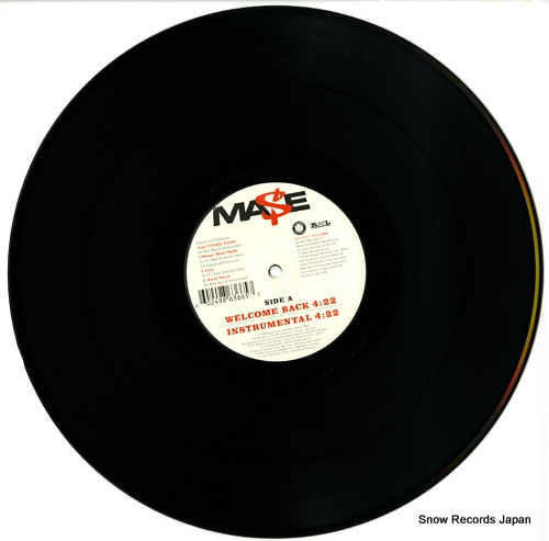 MASE welcome back B0003354-11 - disc