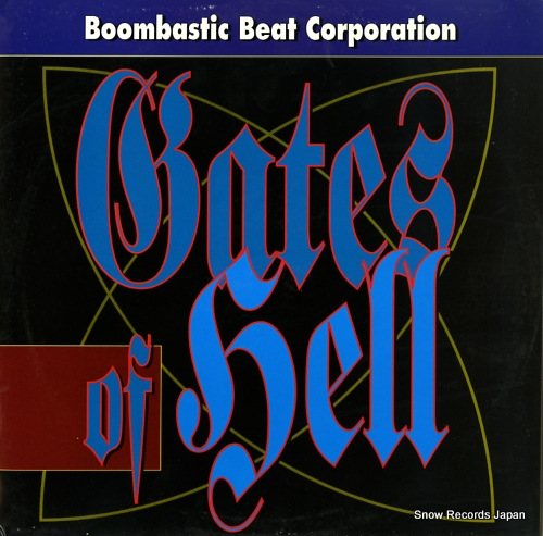 BOOMBASTIC BEAT CORPORATION gates of hell 2100040 - front cover