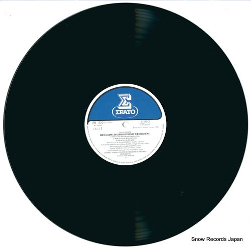 WERNER, FRITZ schutz; requiem (musikalische exequien) REL-1510 - disc