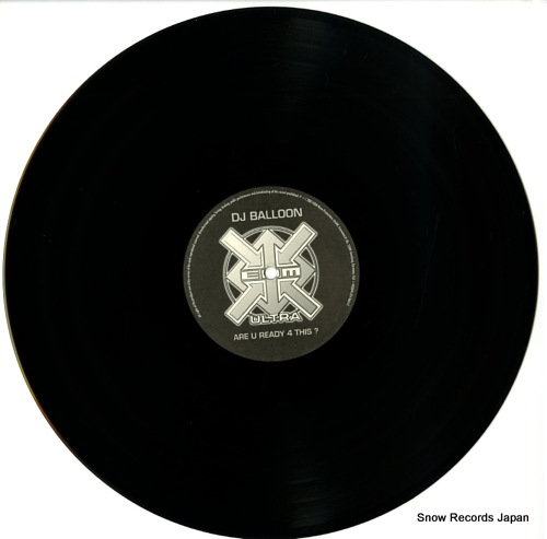 DJ BALLON are u ready 4 this? EDMU001-1 - disc