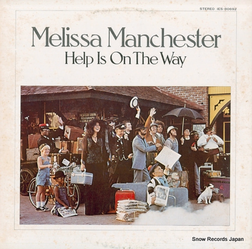 MANCHESTER, MELISSA help is on the way IES-80692 - front cover