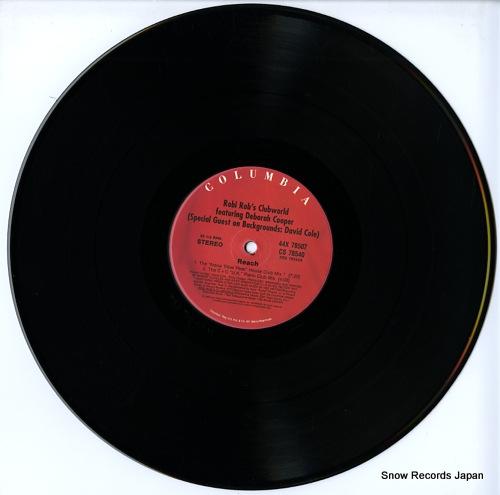 ROBI ROB'S CLUBWORLD reach / mi gente latina 44X78507 - disc