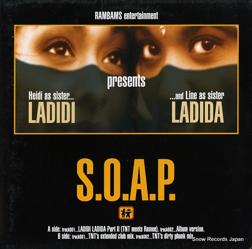 SOAP ladidi ladida 665585/6 - front cover