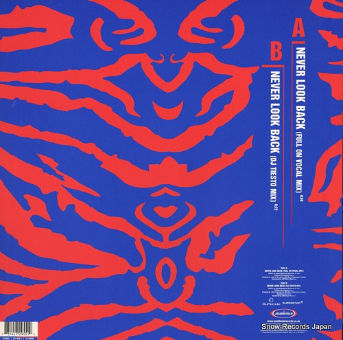 JAMX AND DE LEON never look back FESX83 - back cover