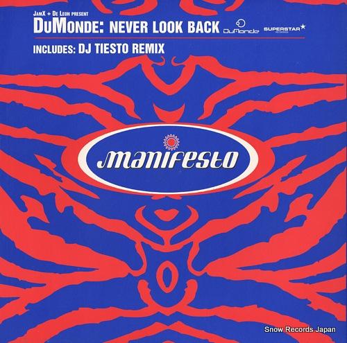 JAMX AND DE LEON never look back FESX83 - front cover