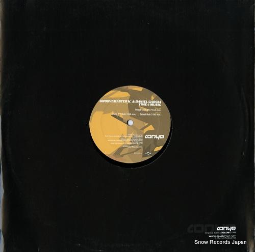GROOVEMASTER K. AND DANIEL GARCIA time 4 music CONYA001 - back cover
