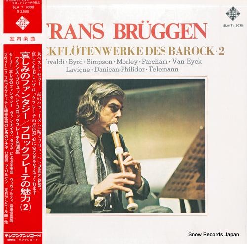 BRUGGEN, FRANS block flotenwerke des barock-2 SLA(T)1038 - front cover