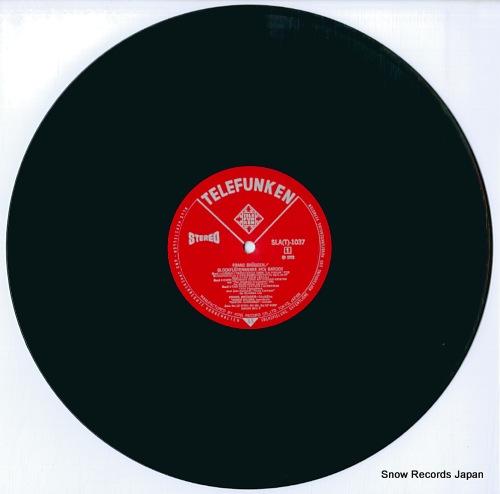 BRUGGEN, FRANS blockfloten werke des barock SLA(T)1037 - disc