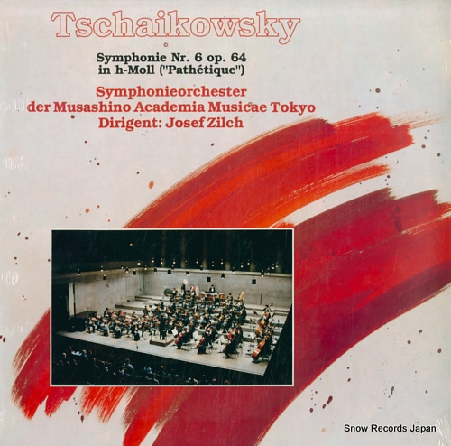 ZILCH, JOSEF tschaikowsky; symphonie nr.6 op.64 in h-moll(