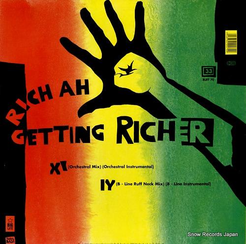 レベル・エム・シー rich ah getting richer BLRT70