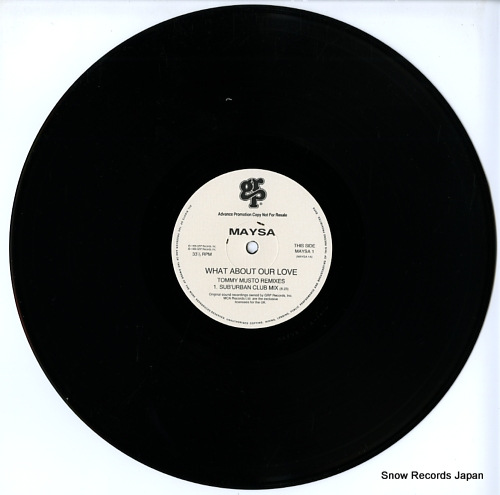MAYSA what about our love?(tommy musto remixes) MAYSA1 - disc
