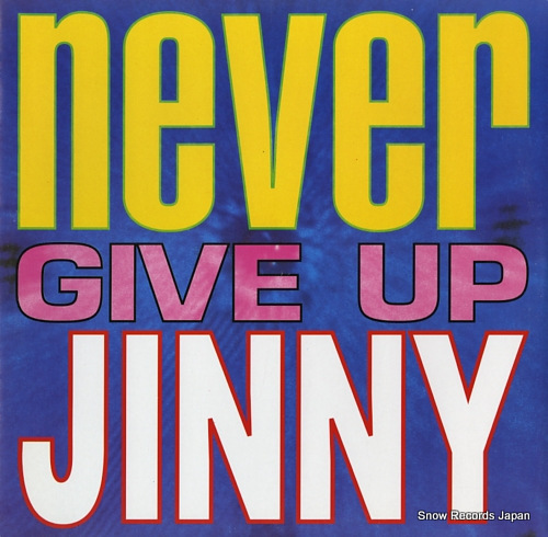 JINNY never give up TIME001 - front cover