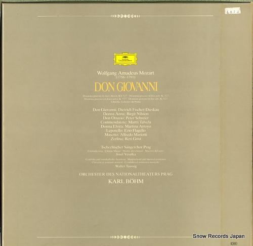 BOHM, KARL mozart; don giovanni 2740205 - back cover