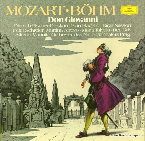 BOHM, KARL mozart; don giovanni 2740205 - front cover