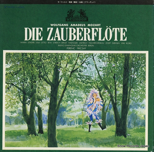 FRICSAY, FERENC mozart; die zauberflote MH5022/4 - front cover