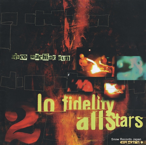 LO-FIDELITY ALLSTARS disco machine gun SKINT30 - front cover