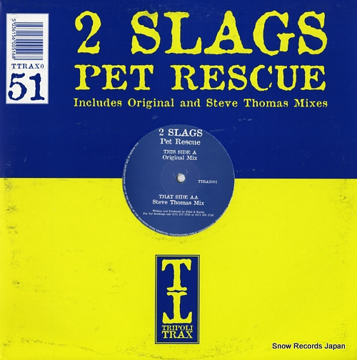 2 SLAGS pet rescue TTRAX051 - front cover