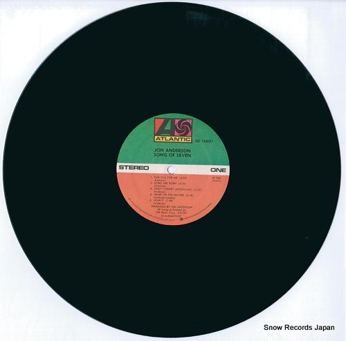 ジョン・アンダーソン song of seven SD16021