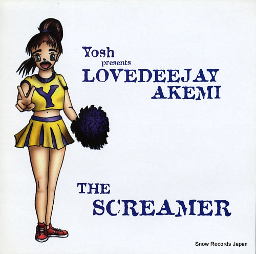 YOSH the screamer LIMB54T - front cover