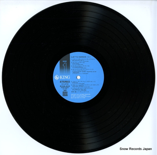 ARIMA, TORU, AND NOCHE CUBANA let's dance-1 K23A-653 - disc