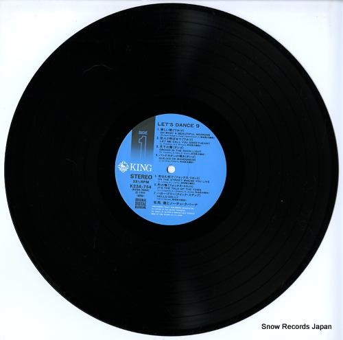 ARIMA, TORU, AND NOCHE CUBANA let's dance-9 K23A-754 - disc